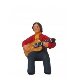 Gitan guitare assis 7cm