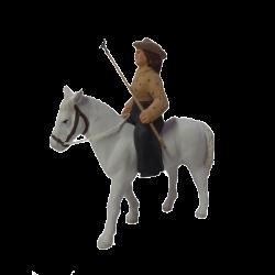 Manadière à cheval 7cm