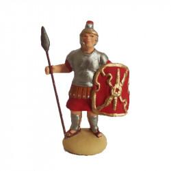 Soldat romain avec lance 7cm