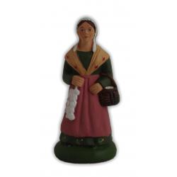 Femme à l'aïl 9cm