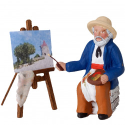 Santon Peintre 9cm