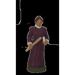 Santon institutrice 9cm