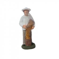 Santon apiculteur 9cm