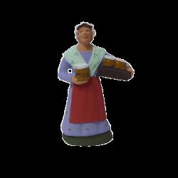 Santon marchande de miel 9cm