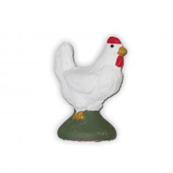 Santon poule 9cm